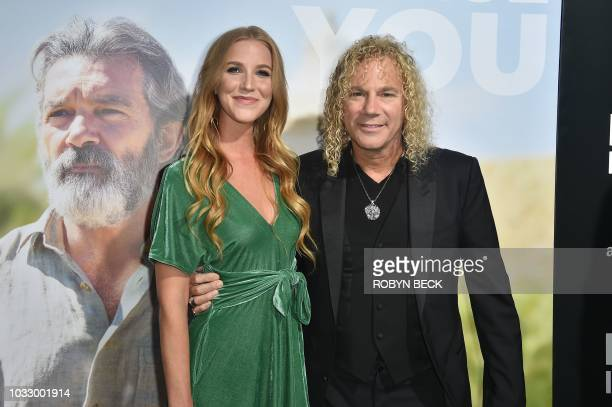 Lexi Quaas and Bon Jovi keyboardist David Bryan attend the premiere of Amazon Studios' Life Itself at ArcLight Cinerama Dome on September 13 2018 in...
