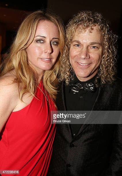 Lexi Quaas and husband David Bryan at the After Party for The New York Pops 32nd birthday celebration honoring Rob Kathleen Marshall at The Mandarin...