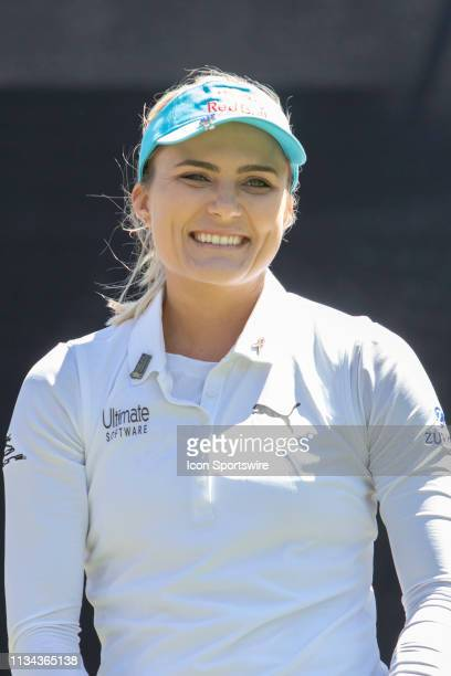 Lexi Thompson during the first round of the Kia Classic at Aviara Golf Club on March 28 2019 in Carlsbad California