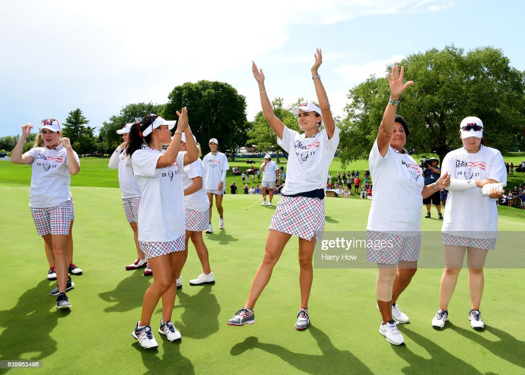 The Solheim Cup - Day Three : News Photo