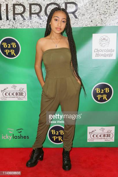 Lexi Underwood attends Issie Swickle Celebrates the Release of Her New Single 'Mirror' at The Industry Loft Space on April 18 2019 in Hollywood...