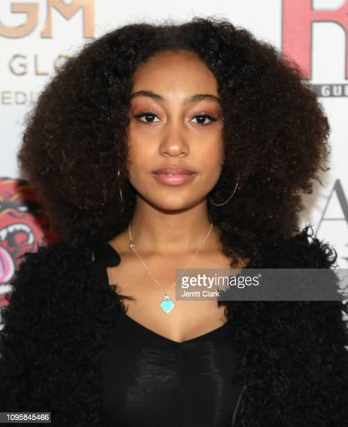 Lexi Underwood attends Smith Global Media's World Premiere Of Canal Street at ArcLight Hollywood on January 17 2019 in Hollywood California