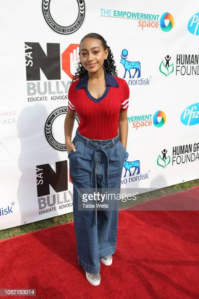Lexi Underwood attends the 3rd Annual Say NO Bullying Festival at Griffith Park on October 14 2018 in Los Angeles California