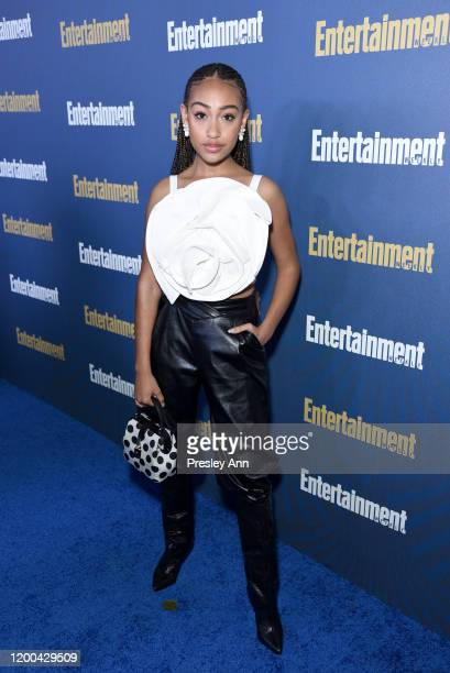 Lexi Underwood is seen as Entertainment Weekly Celebrates Screen Actors Guild Award Nominees at Chateau Marmont on January 18 2020 in Los Angeles...