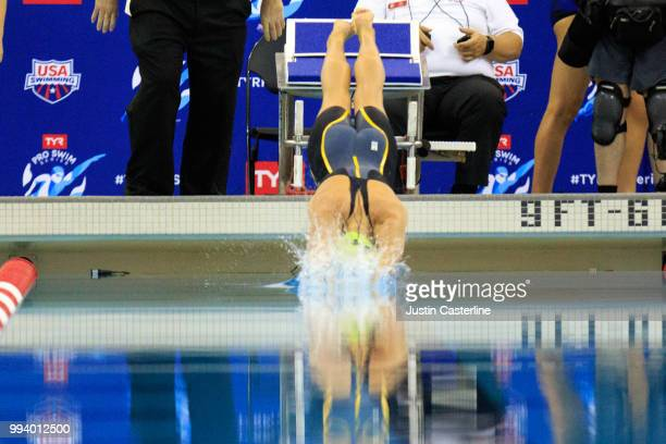 Lexie Mulvihill competes in the women's 200m butterfly prelims at the 2018 TYR Pro Series on July 8 2018 in Columbus Ohio