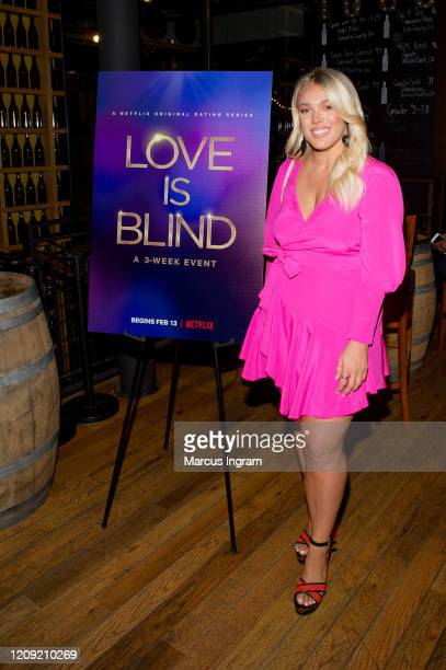 Lexie Skipper attends the Netflix's Love is Blind VIP viewing party at City Winery on February 27 2020 in Atlanta Georgia