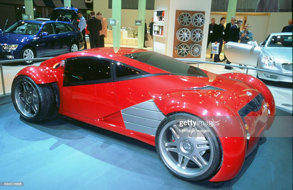 Lexus Electric Concept Car Used In The Film Minority Report 2000