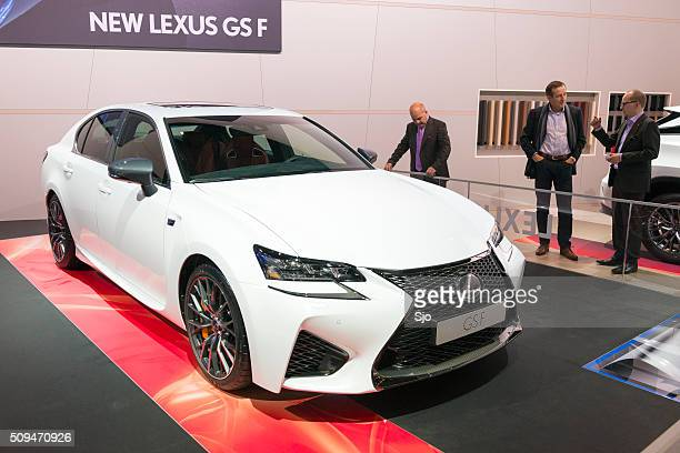 Lexus GS F luxury sport sedan