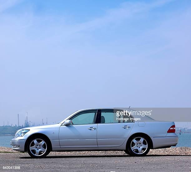 Lexus LS430 by Southampton Water