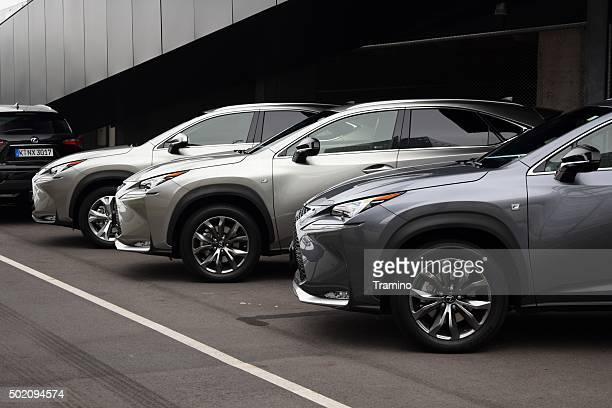 Lexus NX in a row