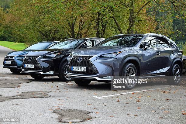 Lexus NX vehicles