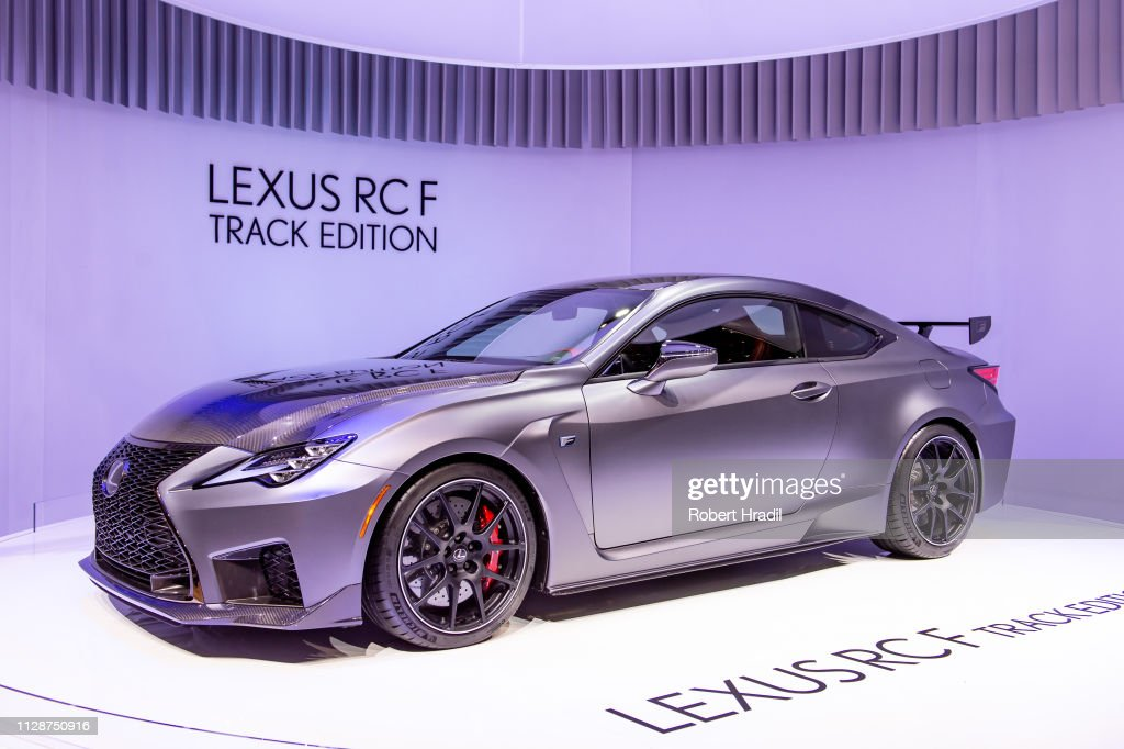 lexus rcf track edition commercial