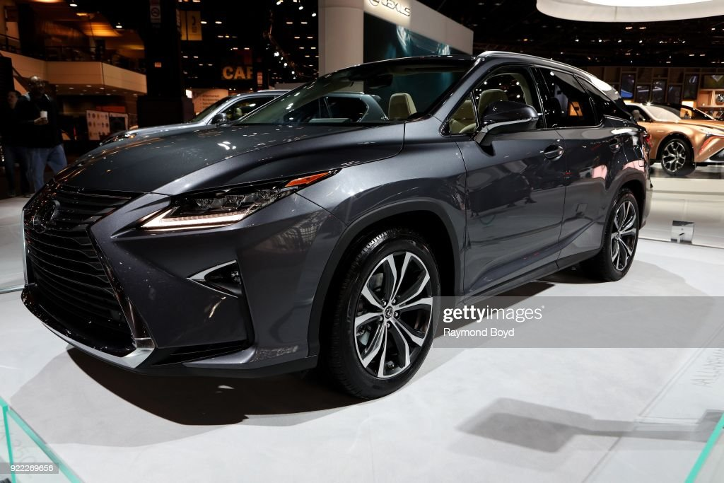 Lexus RX 350L is on display at the 110th Annual Chicago Auto Show at McCormick Place in Chicago, Illinois on February 9, 2018.