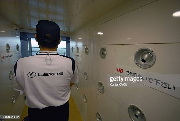 Lexus Shows World'S First 'Clean' Engine Plant In Tahara Japan On June 28 2007 Aichi Prefecture Lexus shows world's first 'clean' engine plant Air...