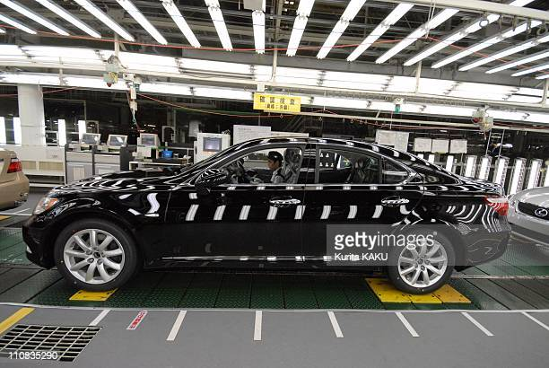 Lexus Shows World'S First 'Clean' Engine Plant In Tahara Japan On June 28 2007 Aichi Prefecture Lexus Assembly Line at Toyota Motor Tahara Plant June...
