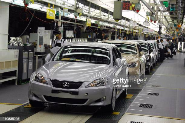 Lexus Shows World'S First 'Clean' Engine Plant In Tahara Japan On June 28 2007 Aichi Prefecture Lexus Inspection Process at Toyota Motor Tahara Plant...