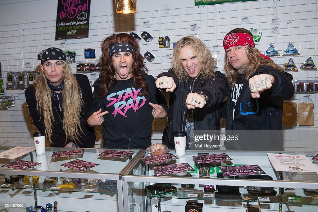 Steel Panther Performs At Showbox SoDo