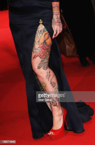 Lexy Hell attends the Closing Ceremony during day ten of the 62nd Berlin International Film Festival at the Berlinale Palast on February 18 2012 in...
