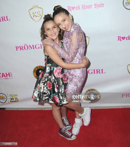 Lexy Kolker and Ava Kolker attend Sneaker Ball presented by Kaylyn Slevin to Benefit A Place Called Home's Cinderella and Prince Charming Project...