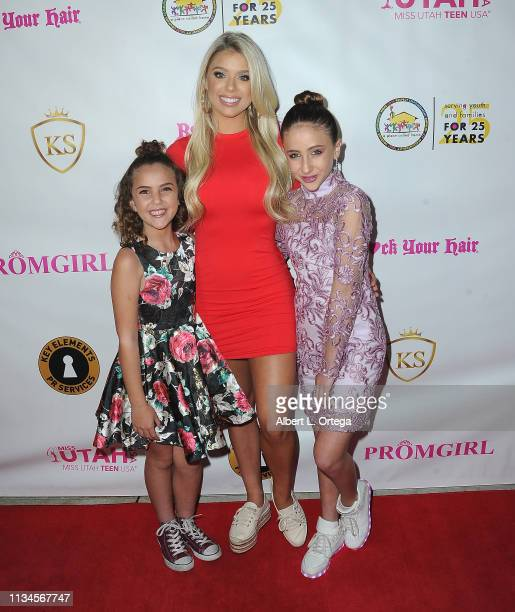 Lexy Kolker Kaylyn Slevin and Ava Kolker attend Sneaker Ball presented by Kaylyn Slevin to Benefit A Place Called Home's Cinderella and Prince...