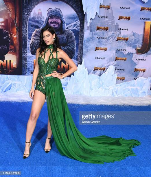 Lexy Panterra arrives at the Premiere Of Sony Pictures' Jumanji The Next Level on December 09 2019 in Hollywood California