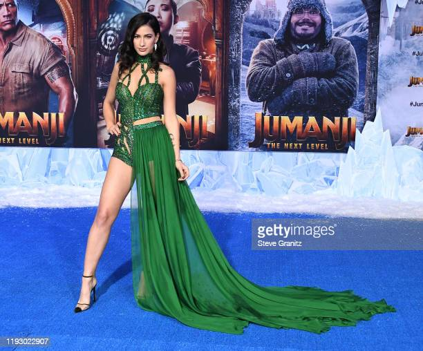 "Lexy Panterra arrives at the Premiere Of Sony Pictures' ""Jumanji: The Next Level"" on December 09, 2019 in Hollywood, California."