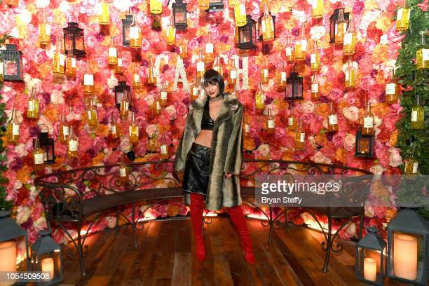 Lexy Panterra attends Casamigos Halloween party at CATCH Las Vegas at ARIA Resort Casino on October 27 2018 in Las Vegas Nevada