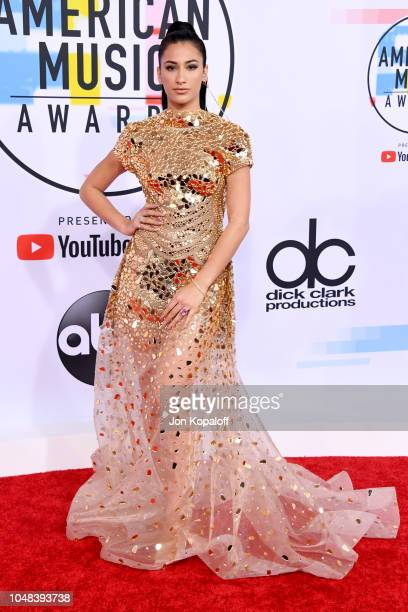 Lexy Panterra attends the 2018 American Music Awards at Microsoft Theater on October 9 2018 in Los Angeles California