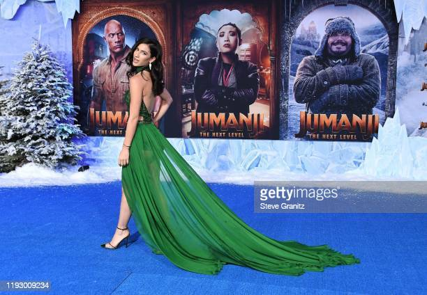 Lexy Panterra attends the premiere of Sony Pictures' Jumanji The Next Level at TCL Chinese Theatre on December 09 2019 in Hollywood California