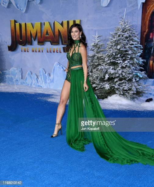 "Lexy Panterra attends the premiere of Sony Pictures' ""Jumanji: The Next Level"" at TCL Chinese Theatre on December 09, 2019 in Hollywood, California."