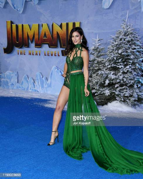 Lexy Panterra attends the premiere of Sony Pictures' Jumanji The Next Level on December 09 2019 in Hollywood California