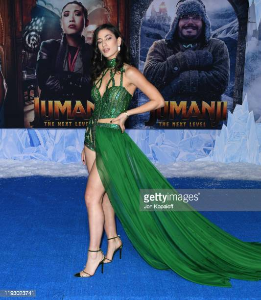 "Lexy Panterra attends the premiere of Sony Pictures' ""Jumanji: The Next Level"" on December 09, 2019 in Hollywood, California."