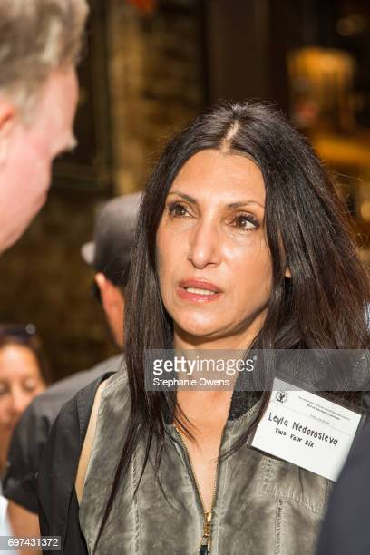 Leyla Nedorosleva attends the DGA Reception during 2017 Los Angeles Film Festival at City Tavern on June 16 2017 in Culver City California