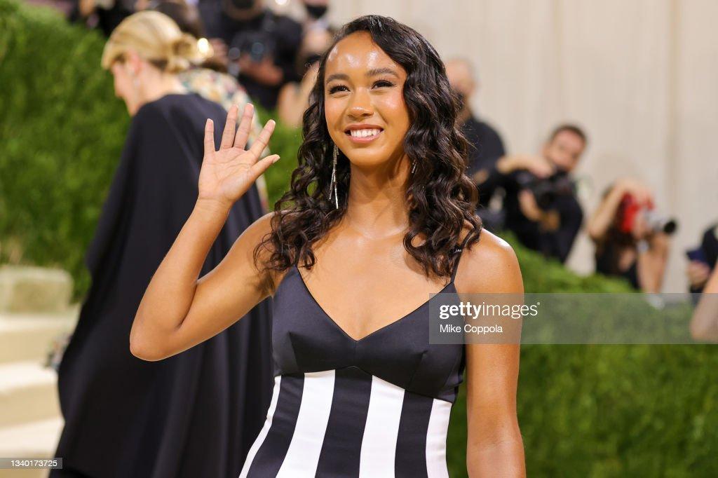 The 2021 Met Gala Celebrating In America: A Lexicon Of Fashion - Arrivals : Fotografía de noticias