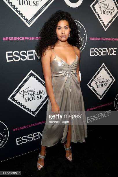 Leyna Bloom attends the ESSENCE Best In Black Fashion Awards at Affirmation Arts on September 04 2019 in New York City