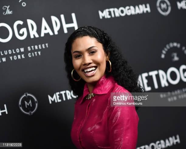 Leyna Bloom attends the Metrograph 3rd Anniversary Party at Metrograph on March 21 2019 in New York City