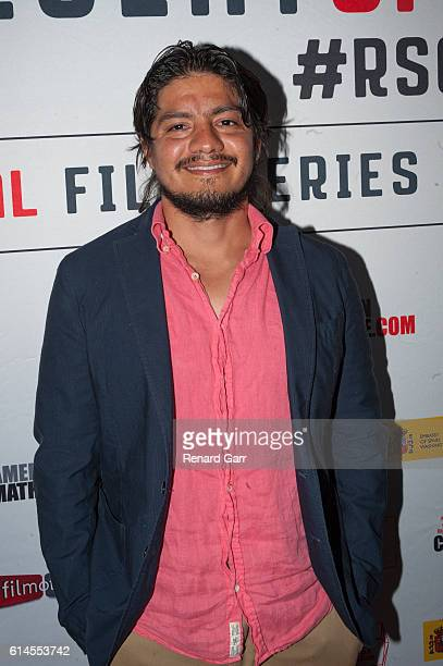 Leynar Gomez at the Egyptian Theatre on October 13, 2016 in Hollywood, California.