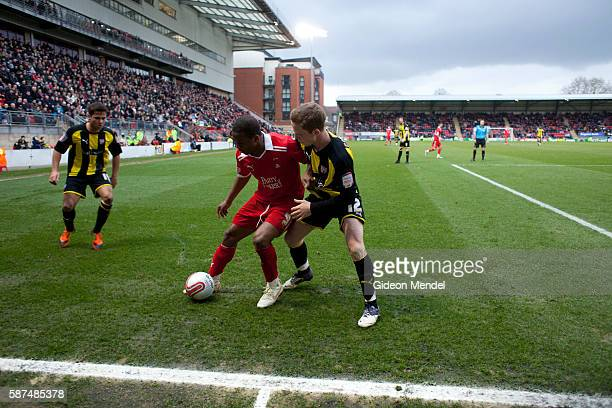 Leyton Orient football team take on Brentford at their Matchroom Stadium close to the site of the 2012 Olympic Games Leyton Orient are a professional...