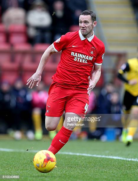 Leyton Orient player manager Kevin Nolan in action during the Sky Bet League Two match between Leyton Orient and Northampton Town at Matchroom...