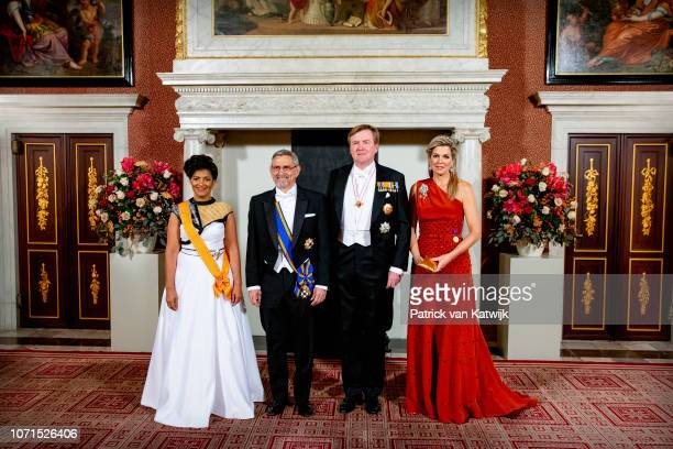 Lígia Fonseca President of Cape Verde Jorge Carlos de Almeida Fonseca King WillemAlexander of The Netherlands and Queen Maxima of The Netherlands...