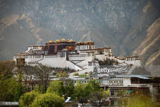 lhasa, tibet - tibet stock pictures, royalty-free photos & images
