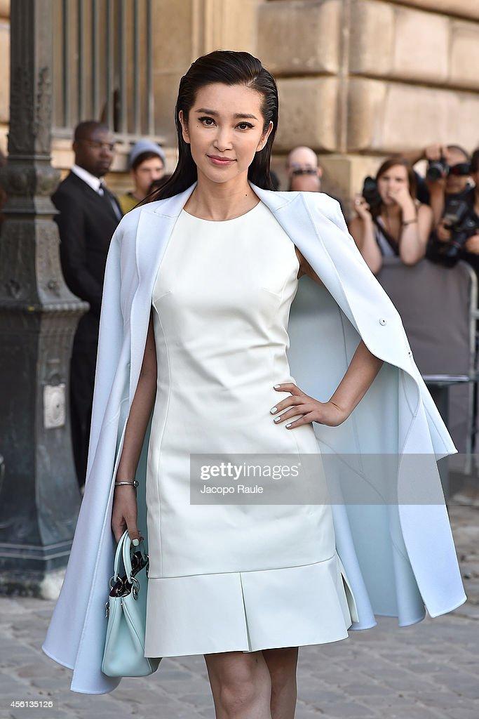 Celebrity Sighting At  Paris Fashion Week, Womenswear Spring/Summer 2015