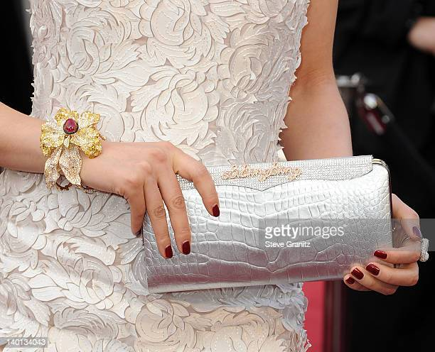Li Bingbing arrives at the 84th Annual Academy Awards at Grauman's Chinese Theatre on February 26 2012 in Hollywood California