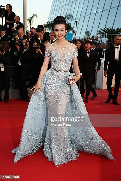 Li Bingbing attends the Premiere of The Sea Of Trees during the 68th annual Cannes Film Festival on May 16 2015 in Cannes France