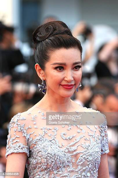 Li Bingbing attends the premiere of 'The Sea Of Trees' during the 68th annual Cannes Film Festival on May 16 2015 in Cannes France