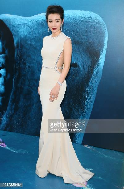 Li BIngbing attends the premiere of Warner Bros Pictures and Gravity Pictures' Premiere of The Meg on August 06 2018 in Hollywood California