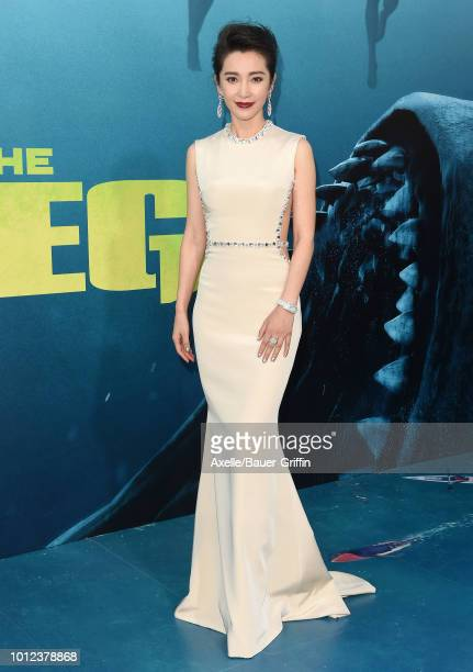 Li Bingbing attends the premiere of Warner Bros Pictures and Gravity Pictures' 'The Meg' at TCL Chinese Theatre IMAX on August 6 2018 in Hollywood...