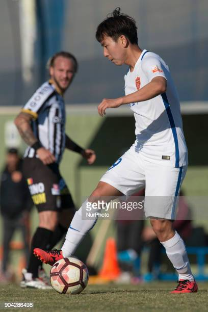 Li Hao during the friendly match between Royal Charleroi SC vsYanbian Funde FC at Pinatar Arena Murcia SPAIN 10th January of 2018