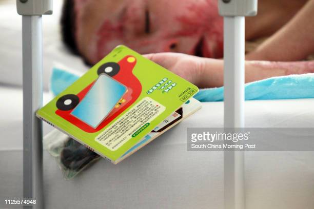 Li Hao is pictured in bed at the PLA 304 Hospital in Beijing on Jul 17 2013 The two boys Li Haoren eight years old and his younger brother Li Hao 4...