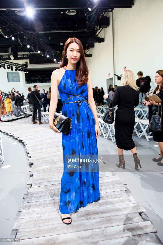 Li Hui attends the Michael Kors runway show during New York Fashion Week at Spring Studios on September 13, 2017 in New York City.